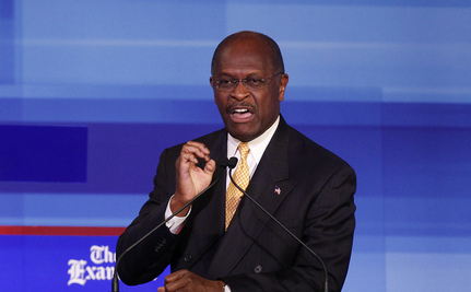 Cain Tied With Romney, Leading Obama in New Polls