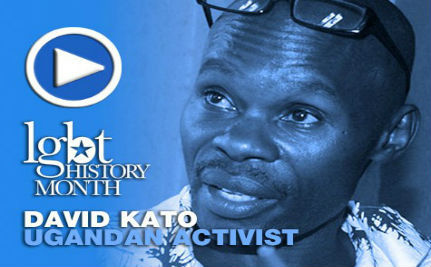Activist David Kato — LGBT History Month Day 18