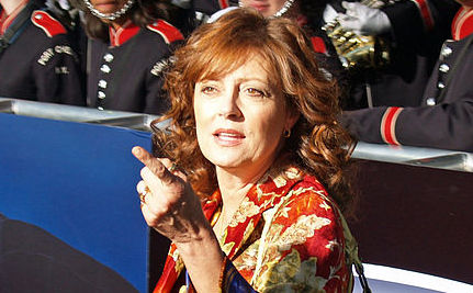 "Susan Sarandon Says Pope Is a ""Nazi"""