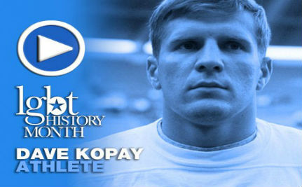 Athlete Dave Kopay — LGBT History Month Day 21