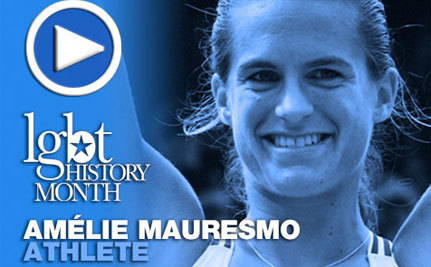 Amelie Mauresmo – LGBT History Month Day 23