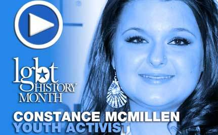 Constance McMillen – LGBT History Month Icon Day 24
