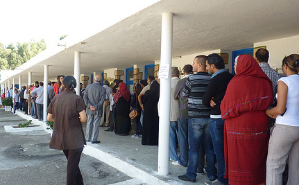 Tunisians Vote in First Free Election