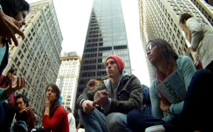 Eavesdropping on an OWS Economics Lesson (Video)