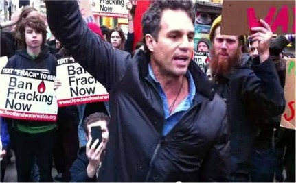 Mark Ruffalo Connects Keystone XL, Fracking & OWS [Video]