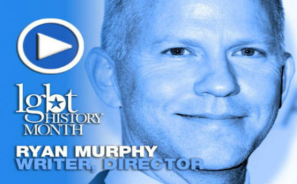 Producer Ryan Murphy — LGBT History Month Day 25