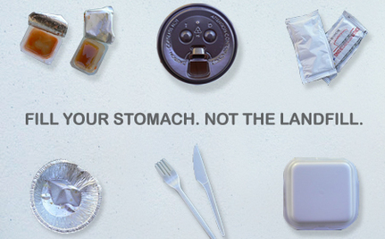 Takeout Without: Leave Disposable Packaging Behind