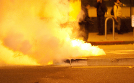 Breaking: Tear Gas, Rubber Bullets At Occupy Oakland – VIDEO