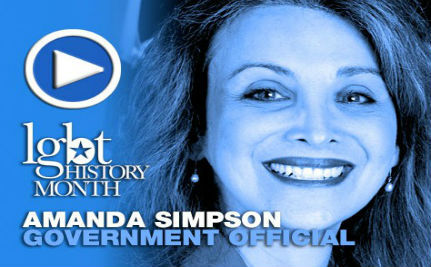 Gov. Official Amanda Simpson — LGBT History Month Day 27