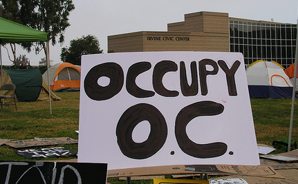 Orange County Accepts Occupy Tents As Free Speech