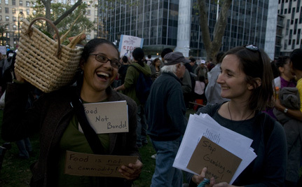 Why the Food Movement Should Occupy Wall Street
