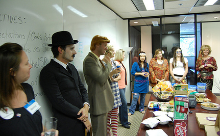 Law Firm's Halloween Party Mocks Foreclosure Victims