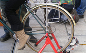 Occupy Wall Street Builds Bike-Powered Generators [Video]