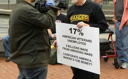 Iraq Veterans Announce Support For Occupy Wall Street