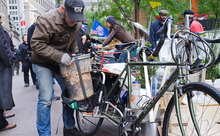 Occupy Wall Street's Now Composting, Distributing It To Community Gardens