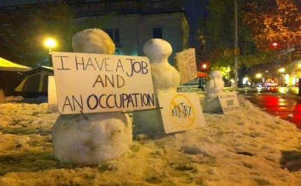 Occupy Wall Street Raises Over $50k For Winter Gear