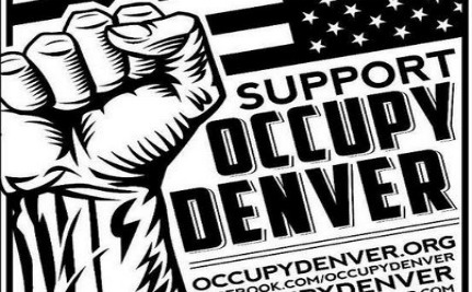 Forced To Name Leader, Occupy Denver Chooses A Dog