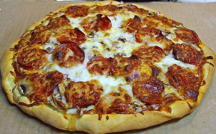 Pizza: School Lunches' New Ketchup