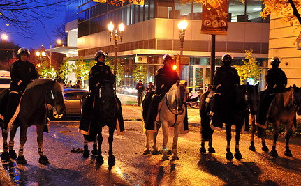 Occupy Portland Under Attack: Police Evict Protesters