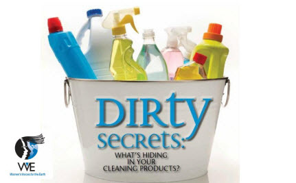 Dirty Secrets: Do You Know What's In Your Cleaning Products?