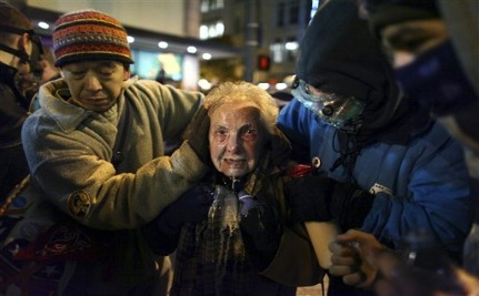 Will This Photo Be the Face of the Occupy Movement?
