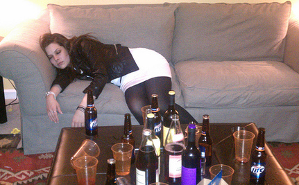 College Women Turn to Hard Liquor
