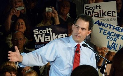 Tens of Thousands Rally To Recall Scott Walker