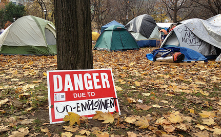 Occupy Protestors Evicted From Tents, First Nations People Forced Into Tents