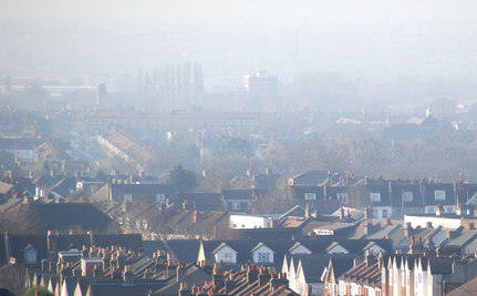 London Sticks It To the Fog: Getting Rid of Air Pollution with Glue