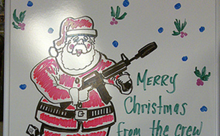 Gun Club Offers Photos With Santa And Firearms – VIDEO