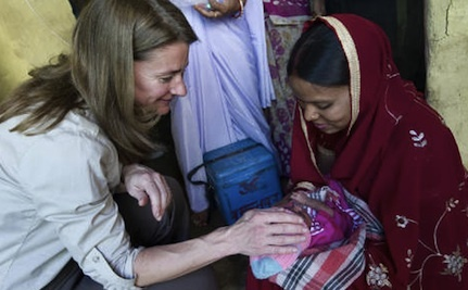 Melinda Gates Announces Commitment to Family Planning