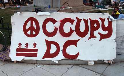 Dozens Arrested Over Wooden Structure At Occupy DC