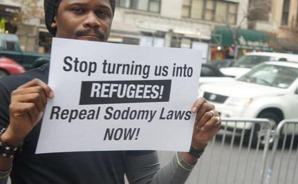 Richard Branson Amongst Protesters Against Nigerian Anti-Gay Bill