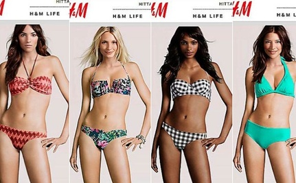 H&M Whittles Down Acceptable Body Types To Exactly One