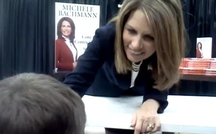 Bachmann Reacts to an 8 Year-Old Telling Her Off