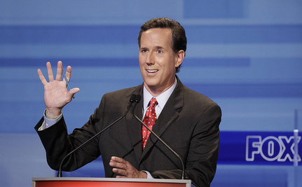 Santorum: We Don't Need Food Stamps Because Obesity Rates Are So High