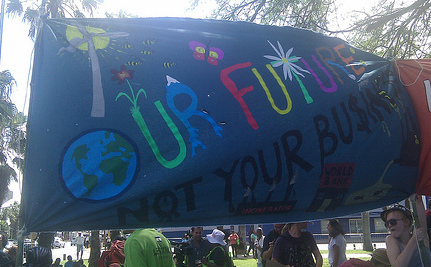 US Youth Occupy Durban Climate Talks [Video]