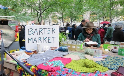 Occupy Wall Street To Host Holiday Bazaar & Skill Share