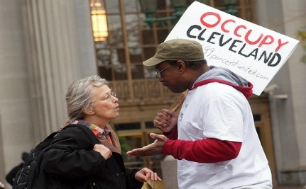 City Of Cleveland Announces Support For Occupy Wall Street