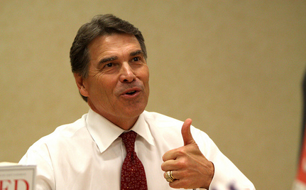 Perry's Biggest Campaign Issue Is Himself