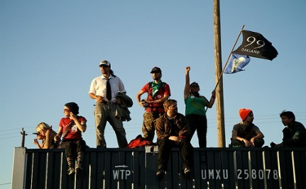 OWS Protesters Block Access To Pacific Coast Ports