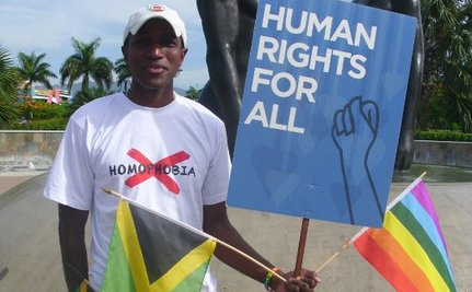 Jamaican Wins 'Visionary' LGBT Activist Award