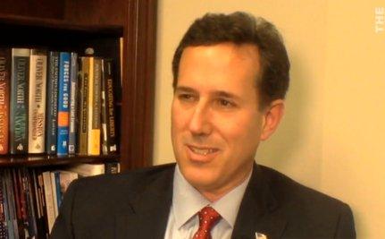 "Santorum's ""Moral"" Argument For Gutting the Social Safety Net [VIDEO]"