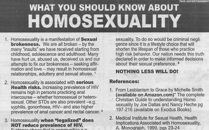 "'Ex-Gay' Myth Hits Caribbean: Newspaper Ad Declares ""Truth"" About Gays"