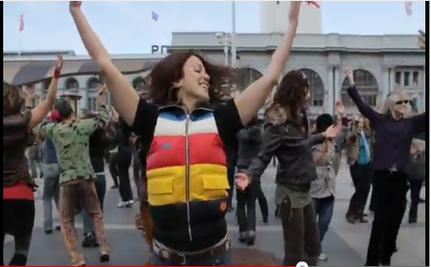 Dance Mob Embodies Occupy Movement [VIDEO]