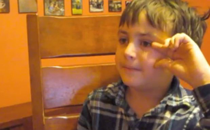 Justice, The 9-Year-Old Vegan (Video)
