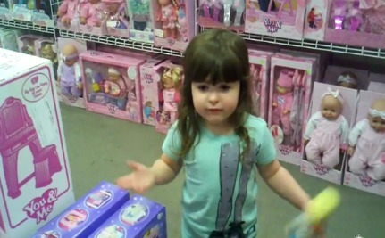 One Smart Little Girl with a Question or Two (Video)