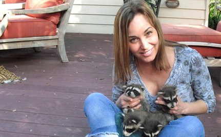 "Woman Suffers Head Trauma Rescuing Baby Raccoons, Calls it Her ""Lucky Day"""
