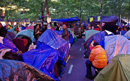 Occupy Wall Street Sues Cities For Unlawful Evictions