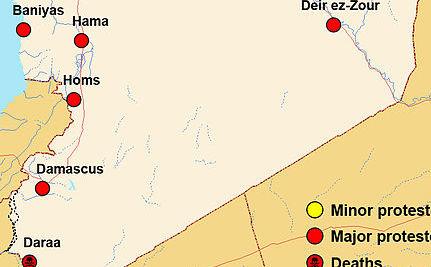Observers Visit Syria, Death Toll Rises